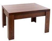 Table en bois photo libre de droits