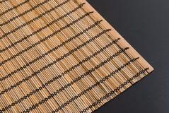 Table en bois plaçant le fond Photo stock