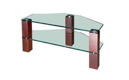 Table en verre de RTV d'isolement Images stock