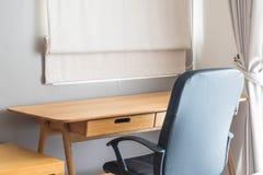 table et chaise - espace de travail à la maison Photos stock