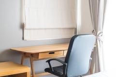 table et chaise - espace de travail à la maison Images stock