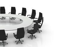 Table et présidences de conférence Photos libres de droits