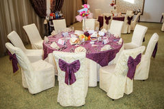 Table event Royalty Free Stock Image