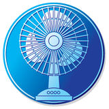 Table fan button Royalty Free Stock Images