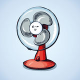 Table fan. Vector drawing Stock Photography