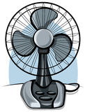 Table fan ventilator Royalty Free Stock Image