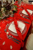 Table for the feast Royalty Free Stock Photography