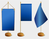 Table flags Stock Photos