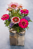 Table flower arrangement Royalty Free Stock Photos