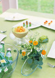 Table with food Stock Photography