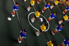 Table foosball game Royalty Free Stock Images