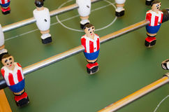 Table of foosball Royalty Free Stock Image