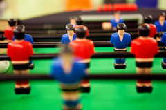 Table football. Close up image of table football Stock Images