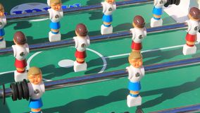 Table football stock video footage