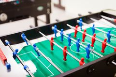 Table football is another group activity Stock Photos