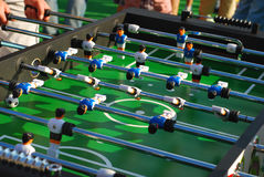 Table football game Royalty Free Stock Photos