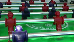 Table Football stock footage