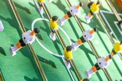 Table football game Stock Image