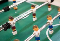 Table football game. Royalty Free Stock Photography