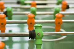 Table football game player Royalty Free Stock Photo