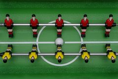 Table football game stock photos