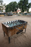 Table Football - Livingstone Town, Zambia - Africa Stock Photography
