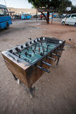 Table Football - Livingstone Town, Zambia - Africa Stock Photos