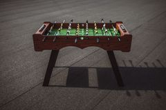 Table football outdoors Stock Images