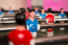 Table football player Stock Photo