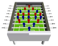 Table Football Soccer Game Perspective Vector Royalty Free Stock Photos