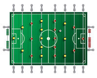 Table Football Vector Tabletop Stock Images