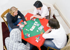 Table for four Stock Photo