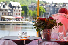 Table french arrangement Royalty Free Stock Images