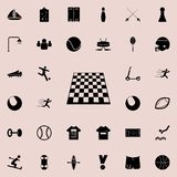 table game board chess icon. Sport icons universal set for web and mobile royalty free illustration