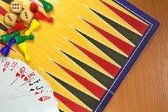 Table games mix Stock Photos