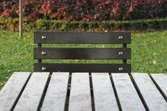 Table in the garden Royalty Free Stock Photos