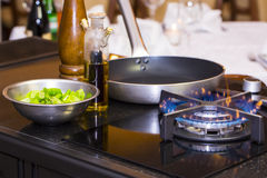 Table Gas Stove Royalty Free Stock Image