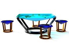 Table gems Royalty Free Stock Photos