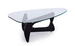 Table of glass Royalty Free Stock Image