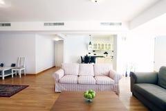 Table In Livingroom Stock Image