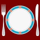 Table inställningen Royaltyfria Bilder