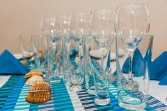 Table inställningen Royaltyfri Fotografi