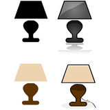 Table lamp Royalty Free Stock Image
