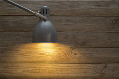 Table lamp, gooseneck Stock Photo