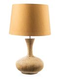 Table lamp isolated Royalty Free Stock Images