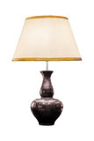 Table lamp isolated Stock Image
