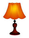 Table lamp / lampshade Stock Photos