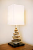 Table lamp modern design Stock Image