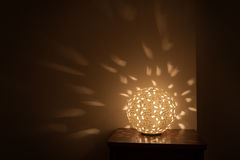 Table lamp night light included Royalty Free Stock Photography