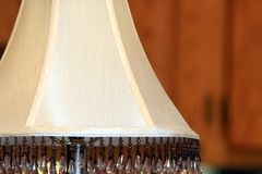 Table lamp shade Stock Photo